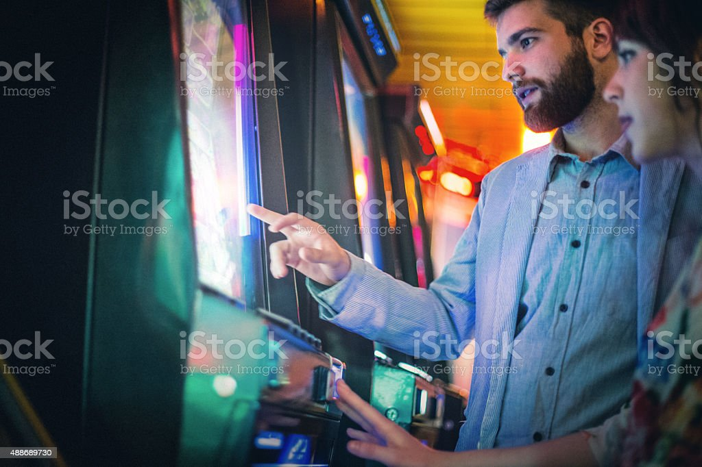 Casino night. stock photo