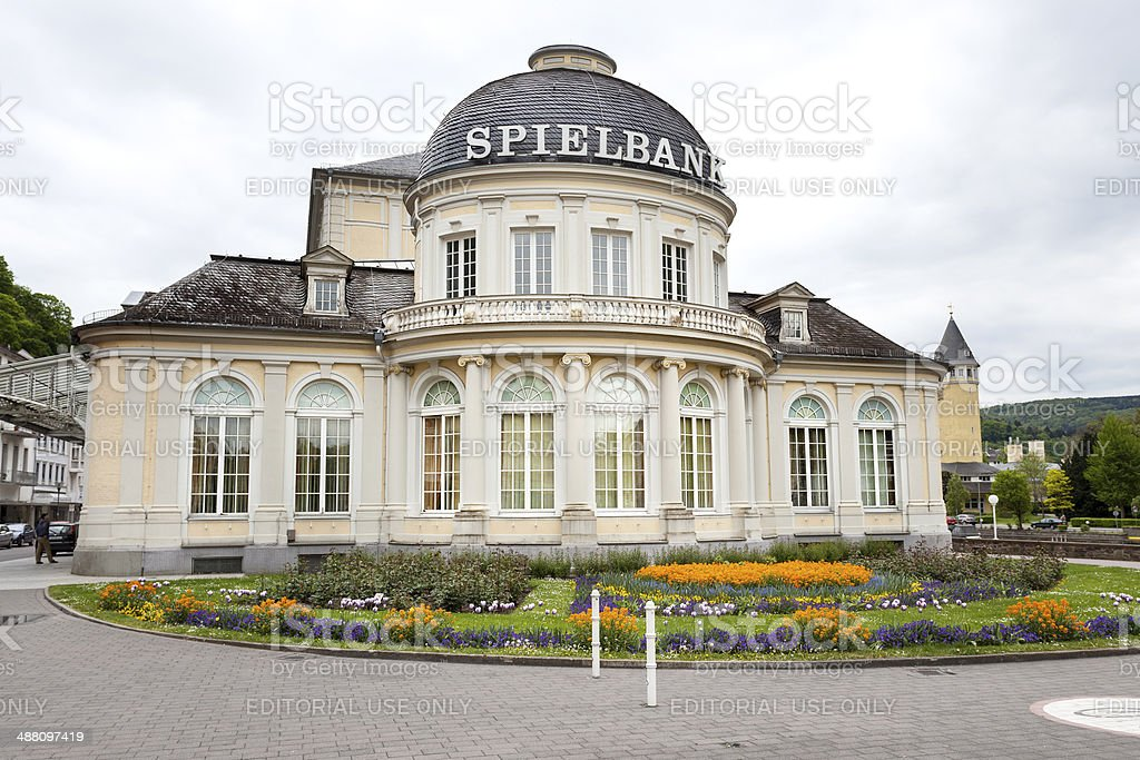 Casino of Bad Ems, Germany stock photo