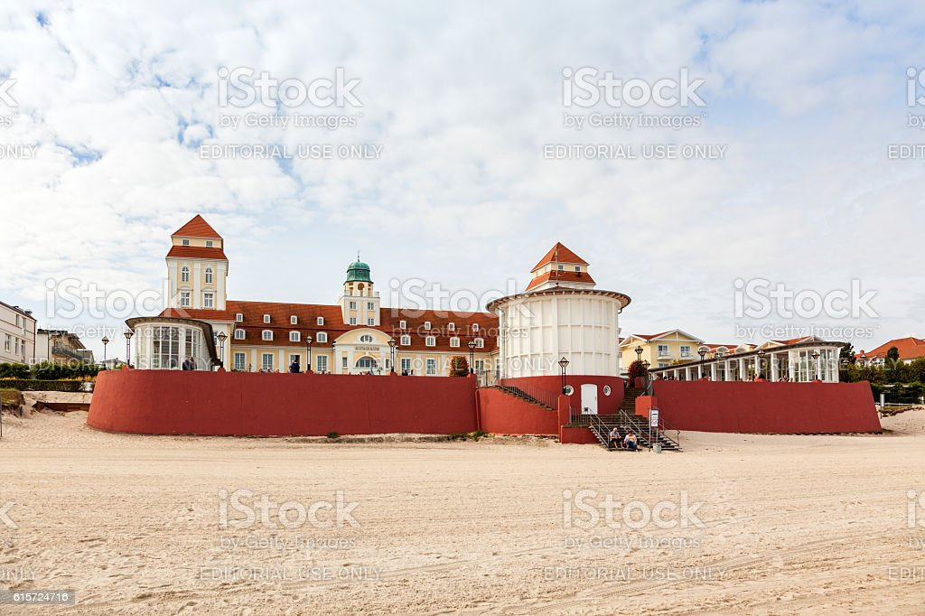 Casino of Binz, Ruegen stock photo