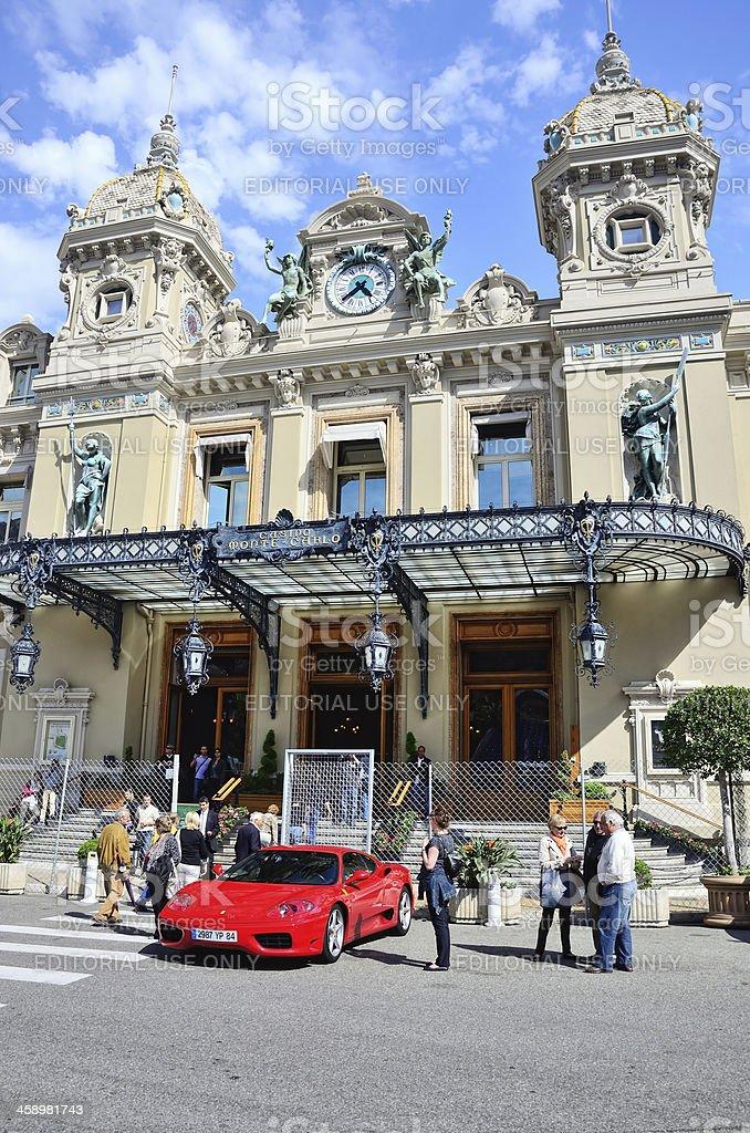 Casino of Monte Carlo stock photo