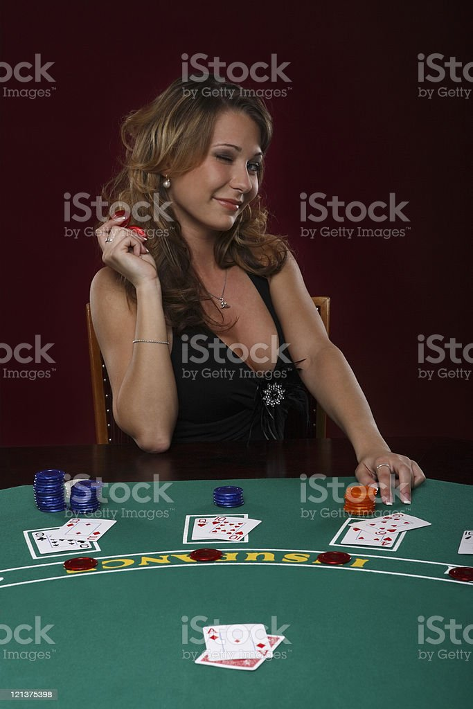 Casino Player royalty-free stock photo