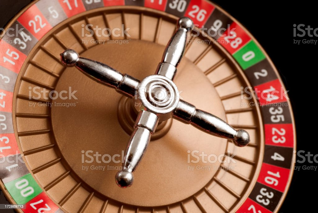 Casino Roulette royalty-free stock photo