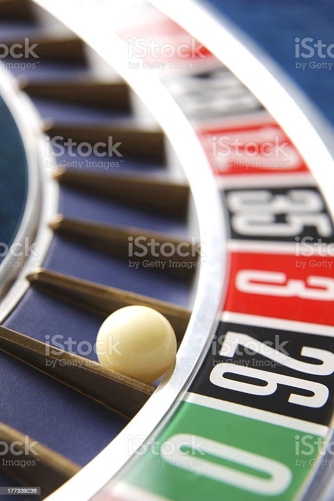 Casino Roulette stock photo