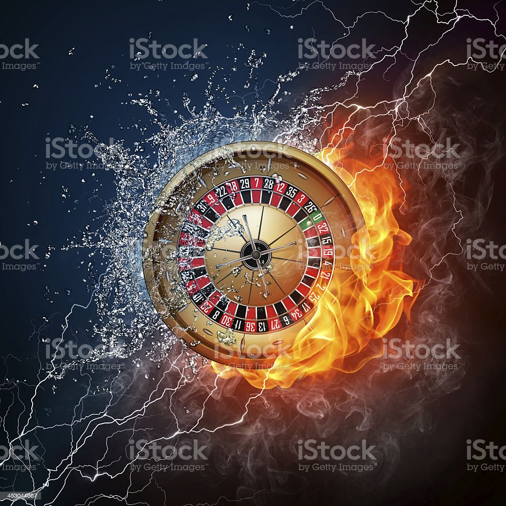 Casino Roulette stock photo