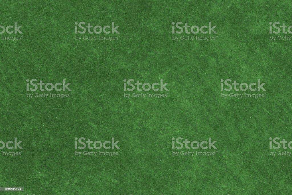 Casino Table Green Fabric Texture royalty-free stock photo