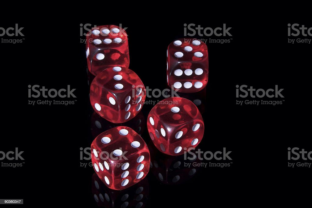 Casino dices royalty-free stock photo