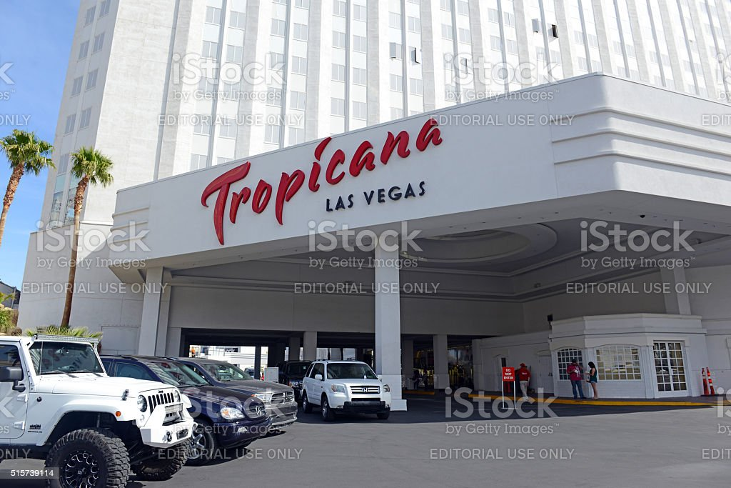 Casinos in Las Vegas, Nevada stock photo