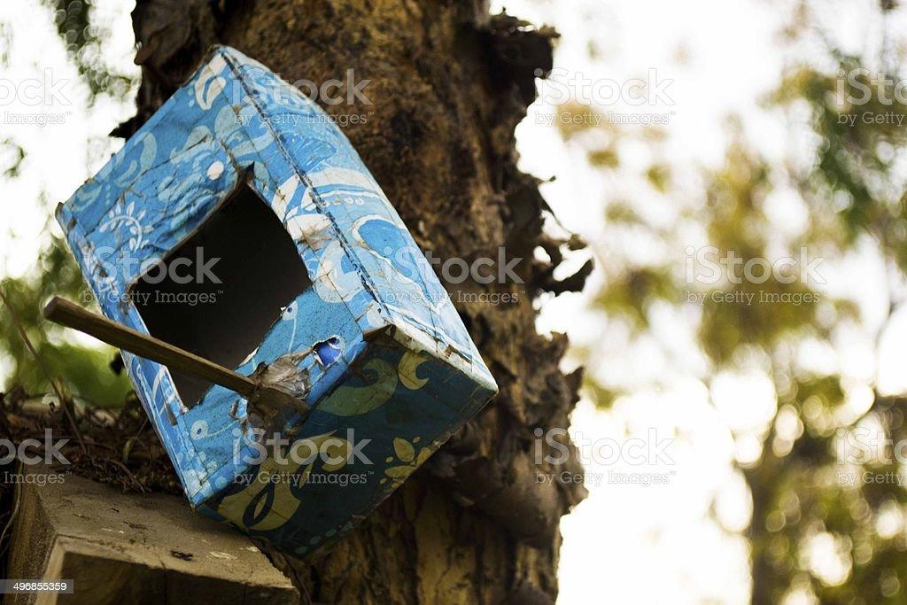 Casita de pajaros stock photo