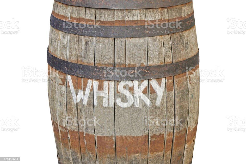 Cask barrel royalty-free stock photo