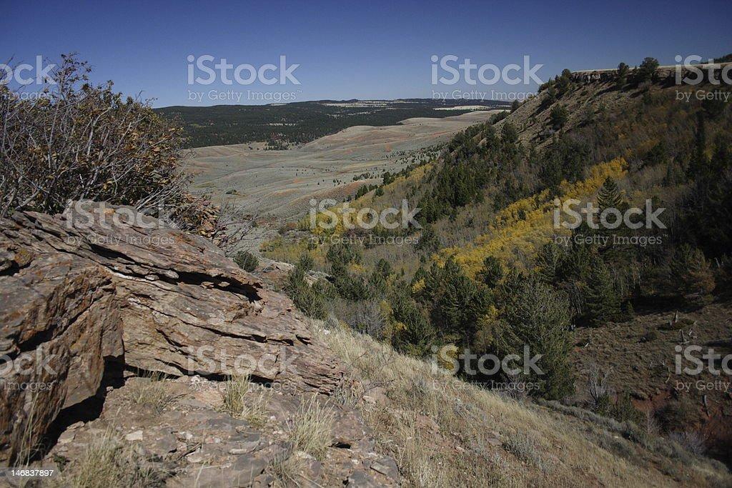 Casper Mountain stock photo