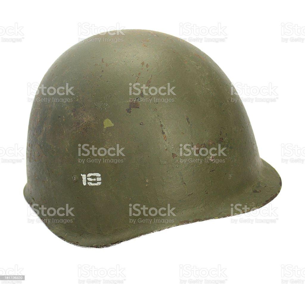 Casque soldat russe deuxi?me guerre mondiale stock photo
