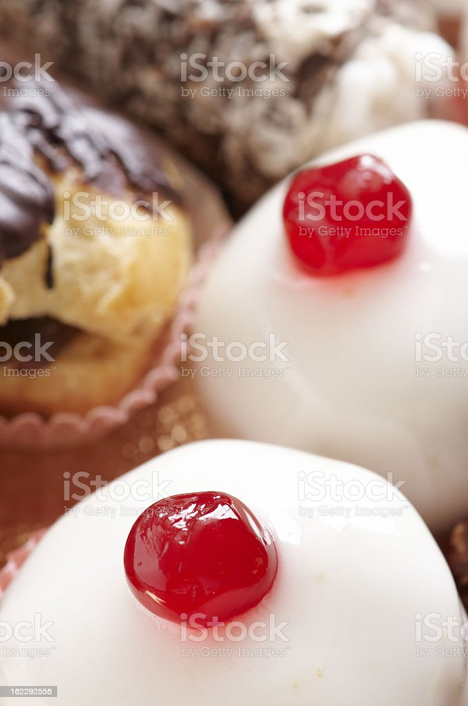 Cassatine Pastry royalty-free stock photo