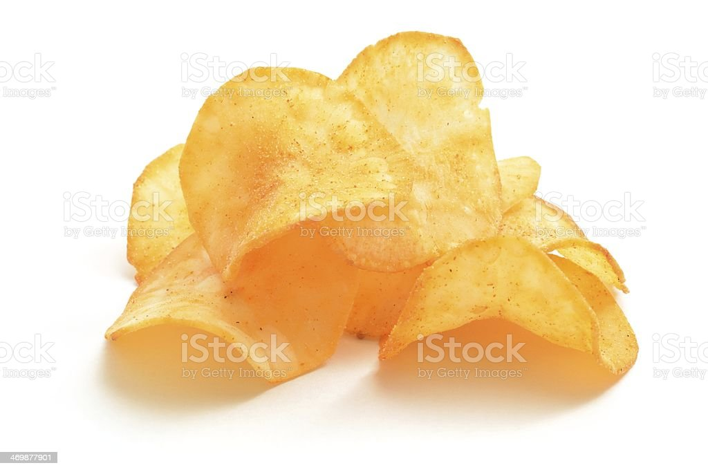 Cassava Crisps stock photo