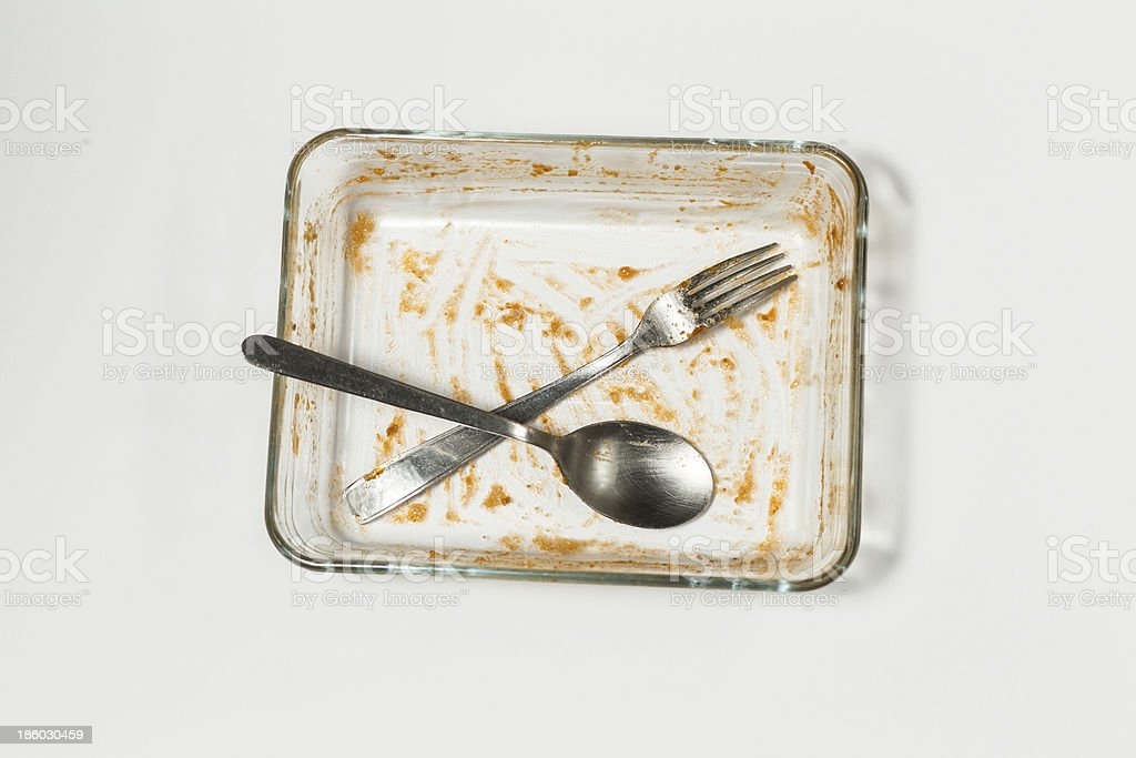 casserole dish royalty-free stock photo