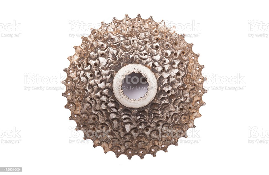 cassette bike stock photo