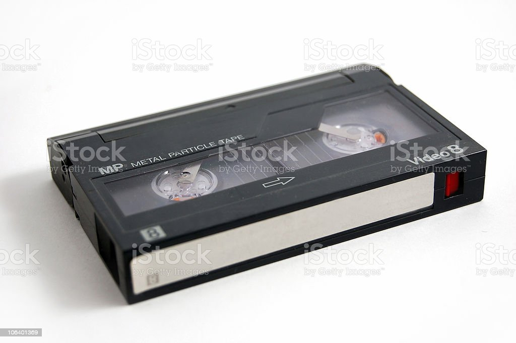 Cassette royalty-free stock photo