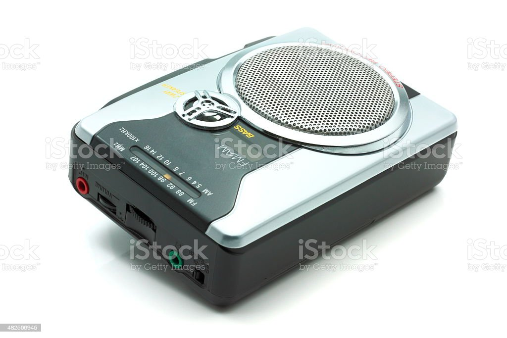 Cassette Player2 royalty-free stock photo