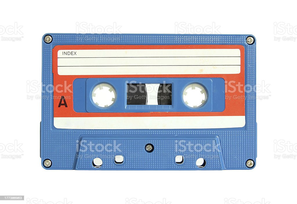 Cassette Tape royalty-free stock photo