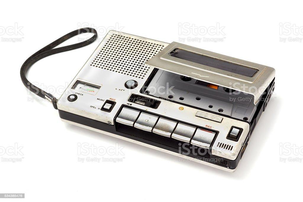 cassette Tape player stock photo