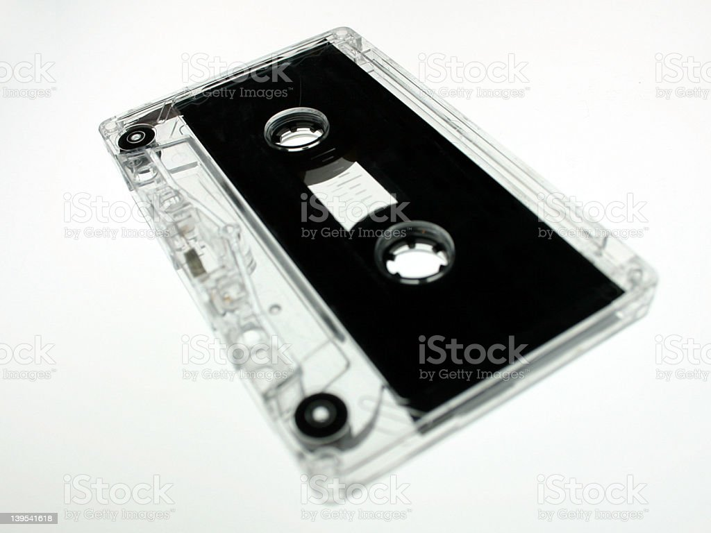 cassette tape2 royalty-free stock photo