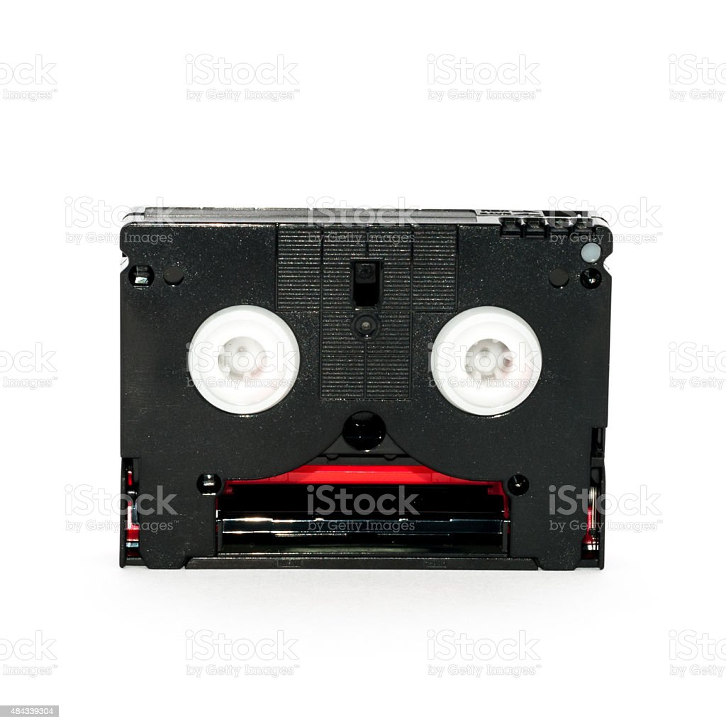DV cassettes stock photo