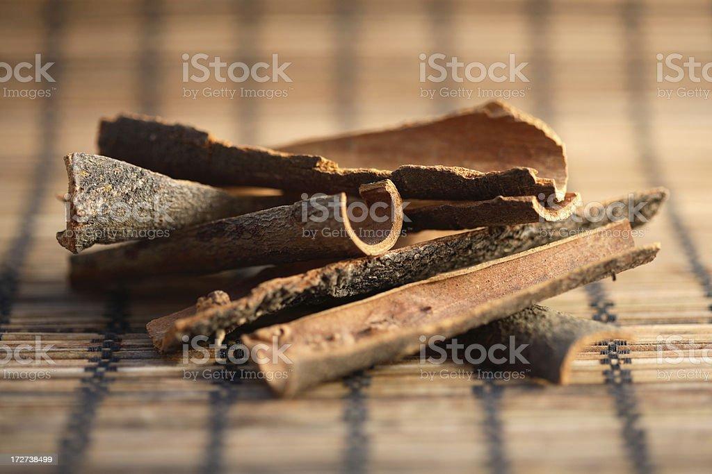 Cassia sticks2. stock photo