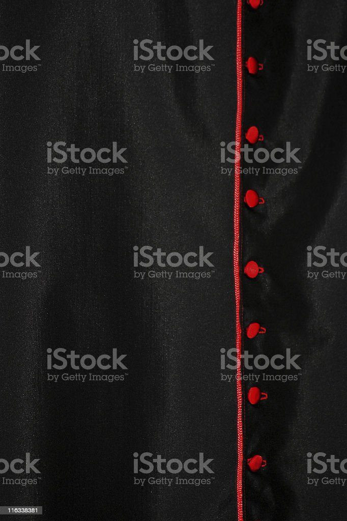 Cassock bishop stock photo