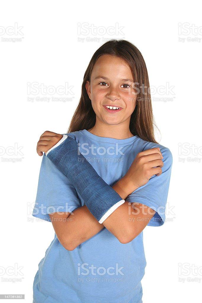 Cast girl royalty-free stock photo