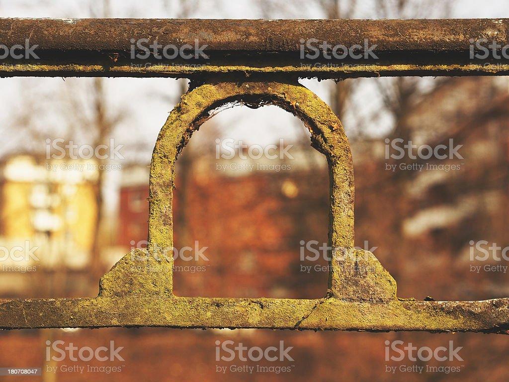cast iron stock photo