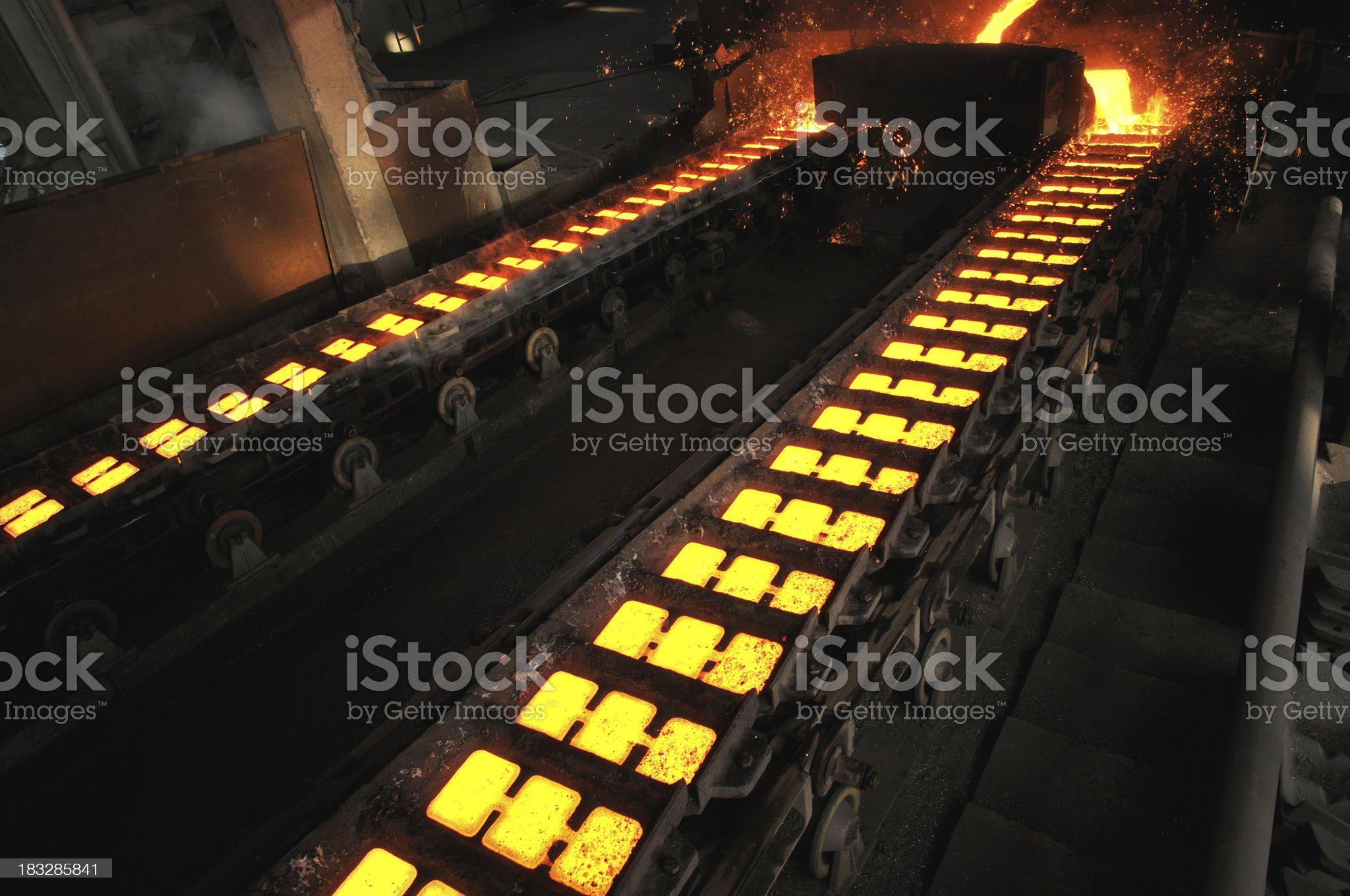Cast iron royalty-free stock photo