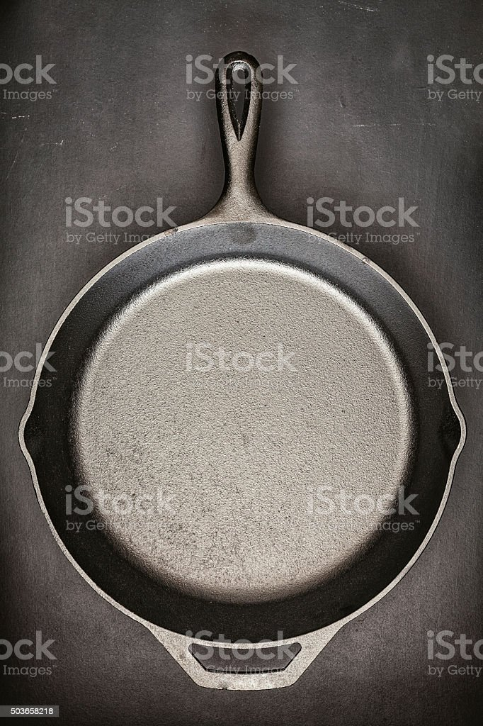 Cast Iron stock photo
