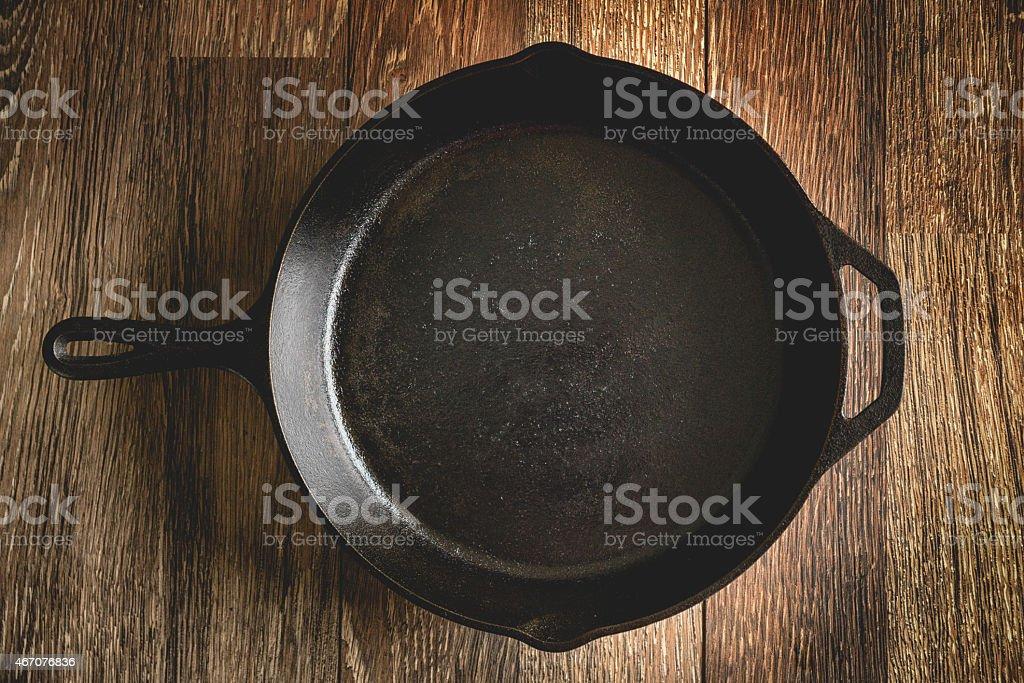 Cast Iron Skillet stock photo