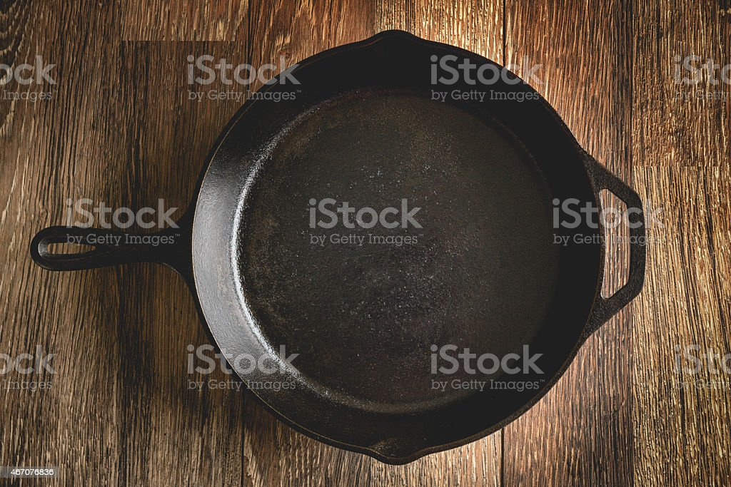 Cast Iron Skillet stock photo