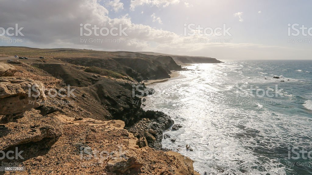 Cast of Fuerteventura royalty-free stock photo