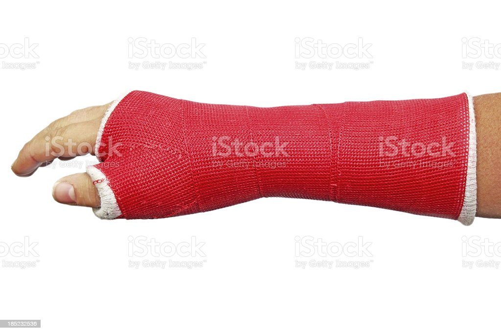 Cast stock photo