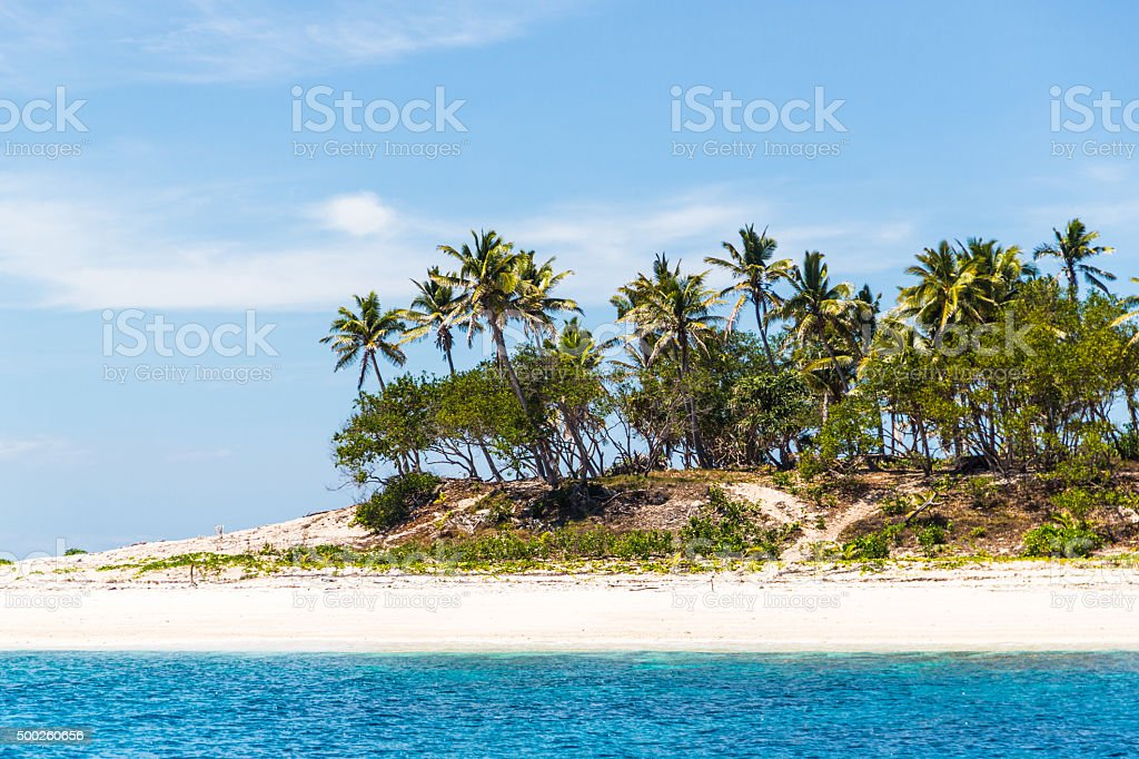 CastAway beach where the movie with Tom Hanks was shot stock photo