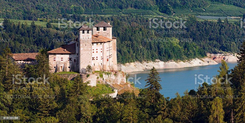 Castel Cles - Val di Non Trentino Italy stock photo