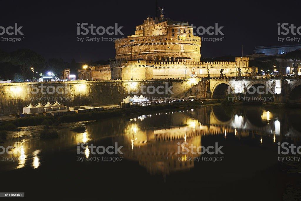 Castel Sant Angelo, Italy, Rome. royalty-free stock photo