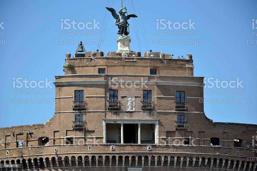 Castel Sant Angelo royalty-free stock photo