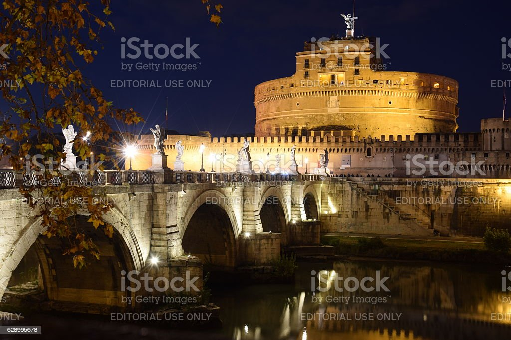 Castel Sant' Angelo stock photo