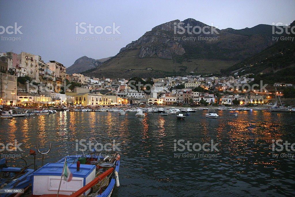 Castellamare del Golfo - Sicilia stock photo