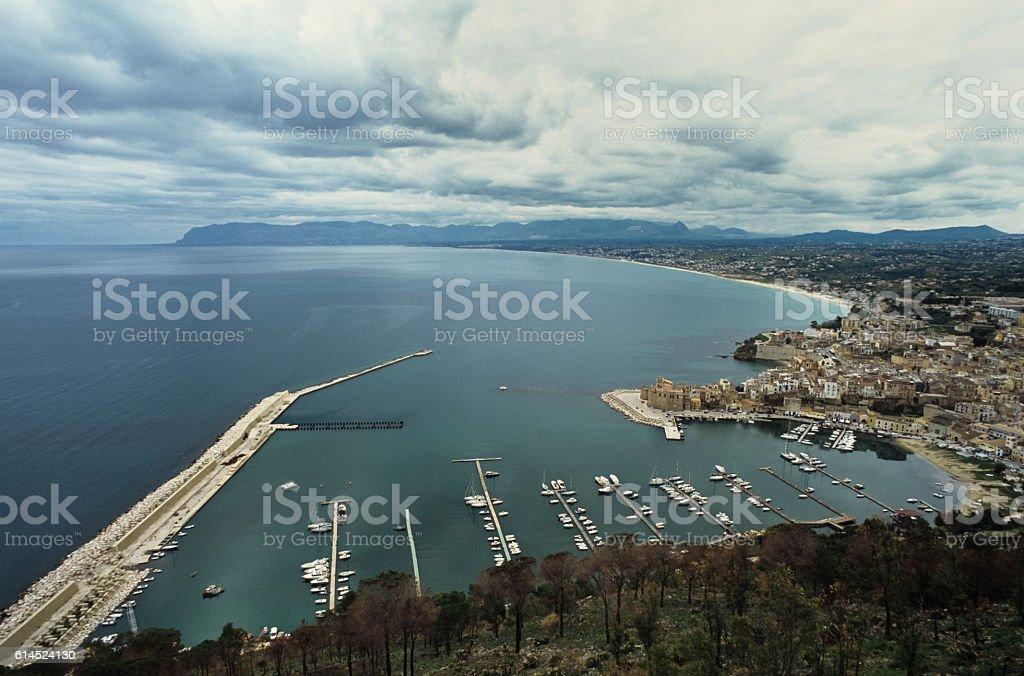 Castellammare del Golfo and Northwestern Sicily stock photo