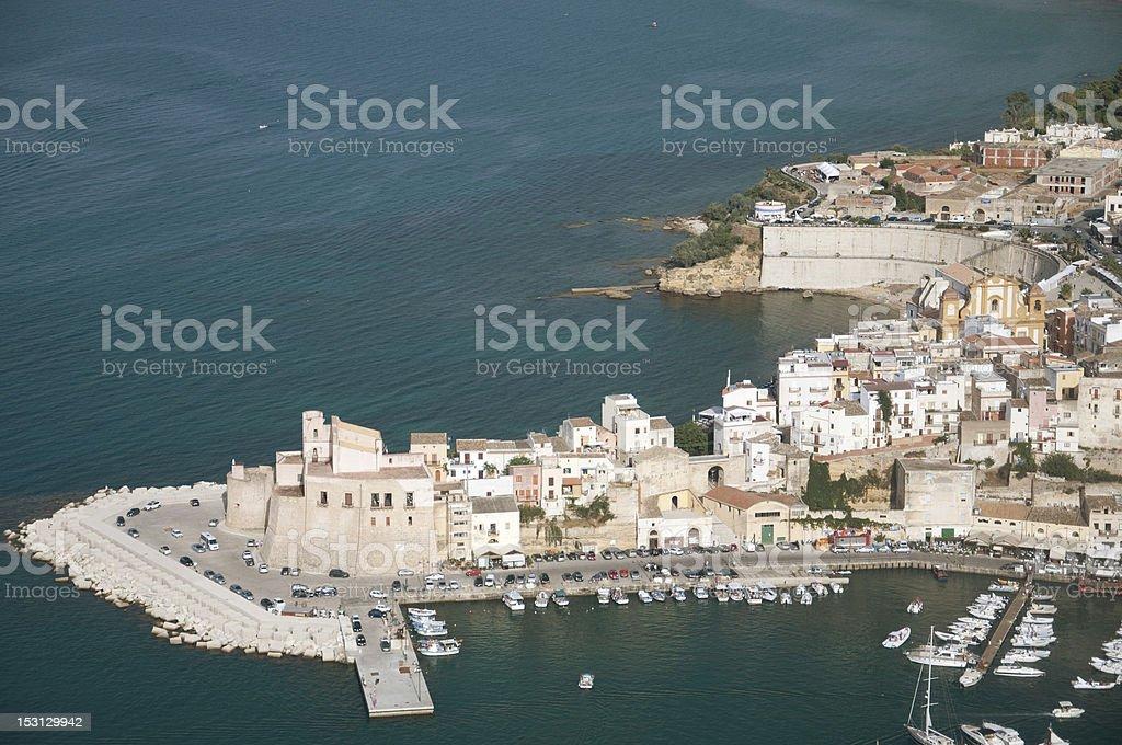 Castellammare del Golfo, in Sicily stock photo