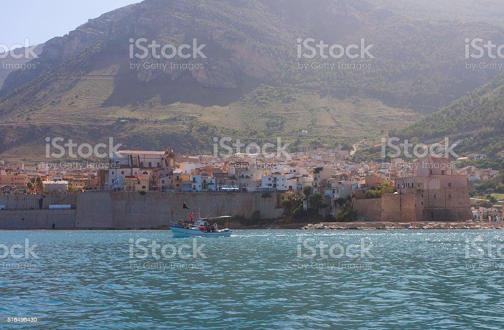Castellammare del Golfo stock photo