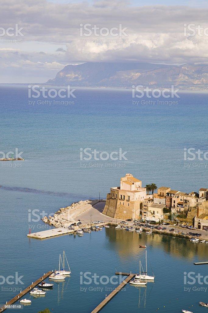 Castellammare del Golfo, Sicily, Italy royalty-free stock photo