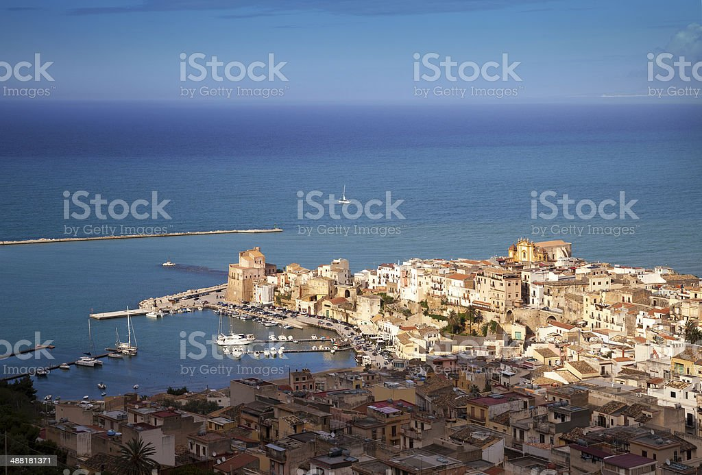Castellammare del Golfo, Sicily royalty-free stock photo