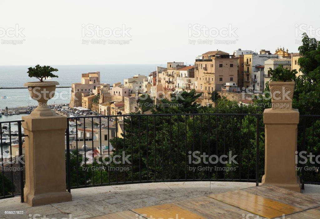 Castellammare del Golfo, Sicily stock photo