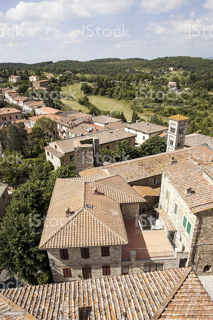 Castellina In Chianti royalty-free stock photo