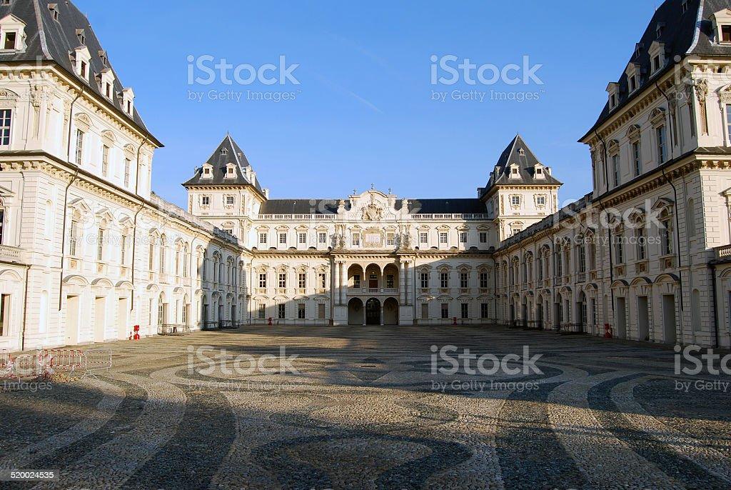 Castello del Valentino, Turin, Italy stock photo