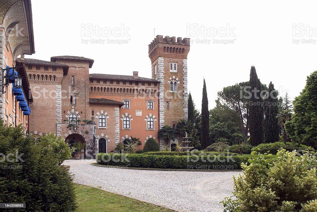Castello di Spessa stock photo